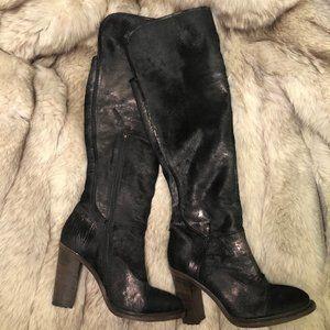 UGG Collection Calandra Lamb Skin Boots